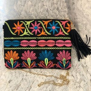 Handbag full of color